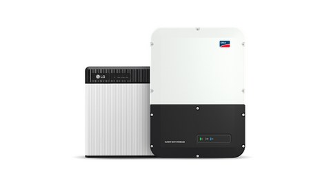 Simple one-person installation: LG Chem and SMA launch new home storage system